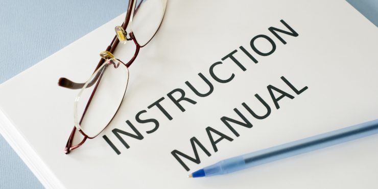 Not for Profit Association instruction manual