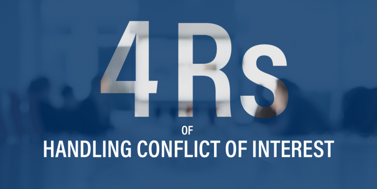 4rs of handling conflicting interest thumbnail
