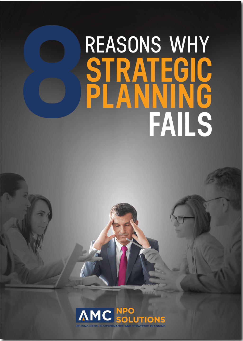 8 reasons why strategic planning fail booklet
