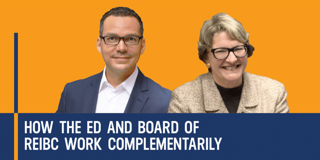 How the ED and Board of REIBC Work Complementarily - The Strategic Nonprofit Podcast