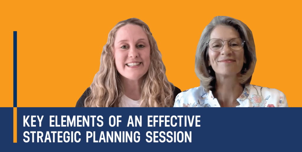 The Strategic Nonprofit Eps6 Key Elements of an Effective Strategic Planning Session with Joanna Barclay