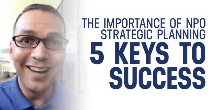 Five steps in the Strategic Planning Process
