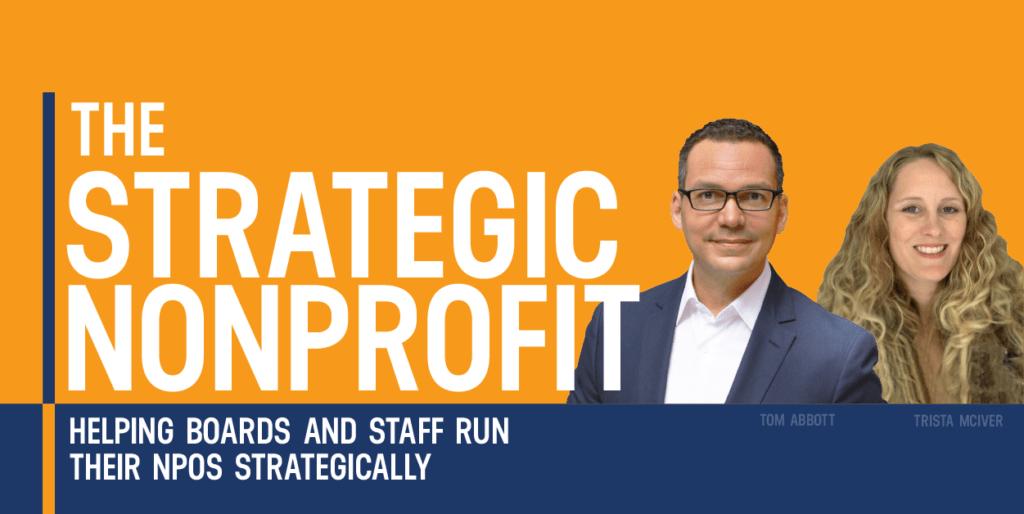 The Strategic Nonprofit Podcast Cover