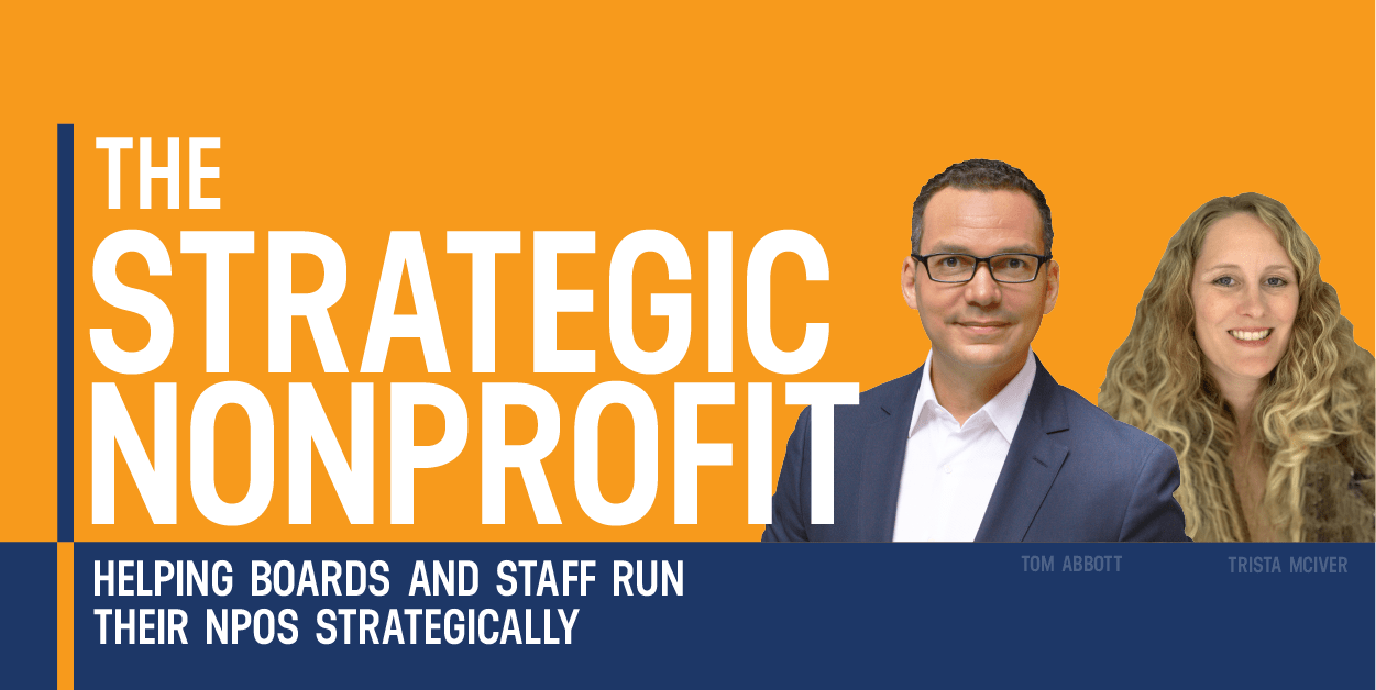The Strategic Nonprofit Podcast Cover