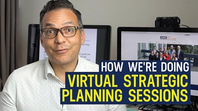 Virtual strategic planning session