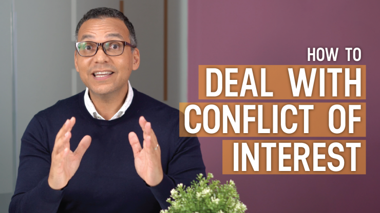 how to deal with conflict of interest video
