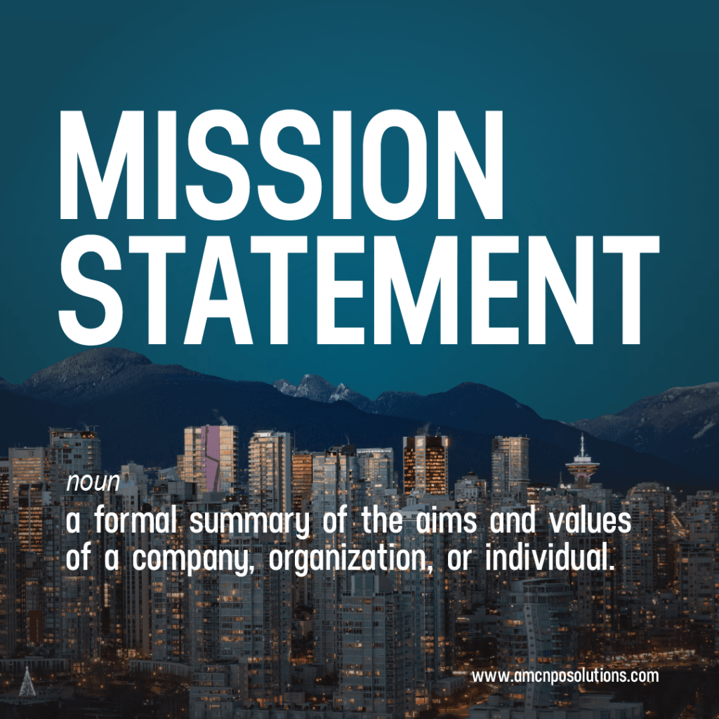mission statement quote image