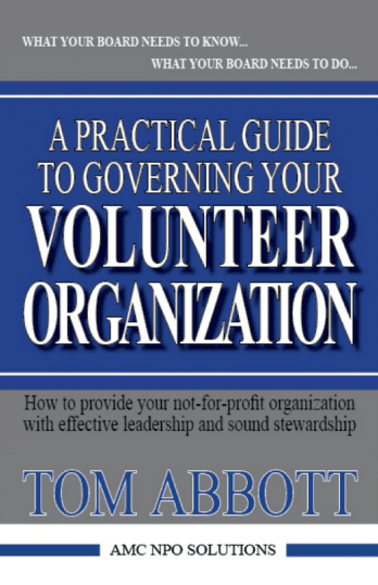 practical guide to governing-your volunteer organization book