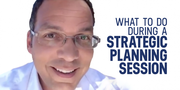 what to do during strategic planning session
